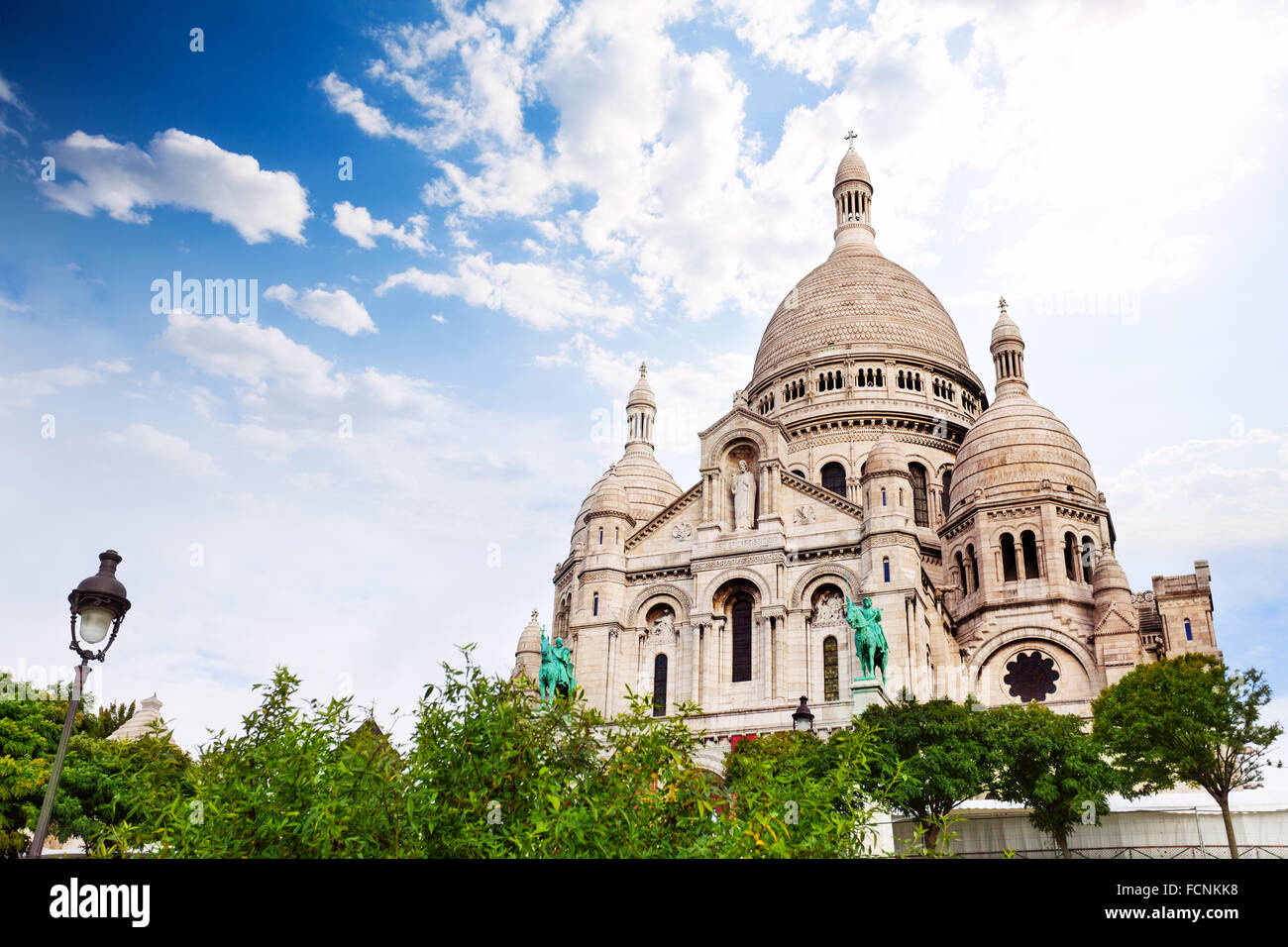 Cupolas of the  Sacred Heart, Paris, France - Stock Image
