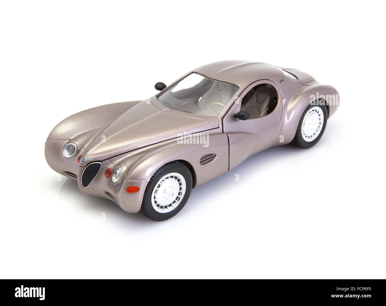 Chrysler Atlantic Concept Car Model on a White background - Stock Image