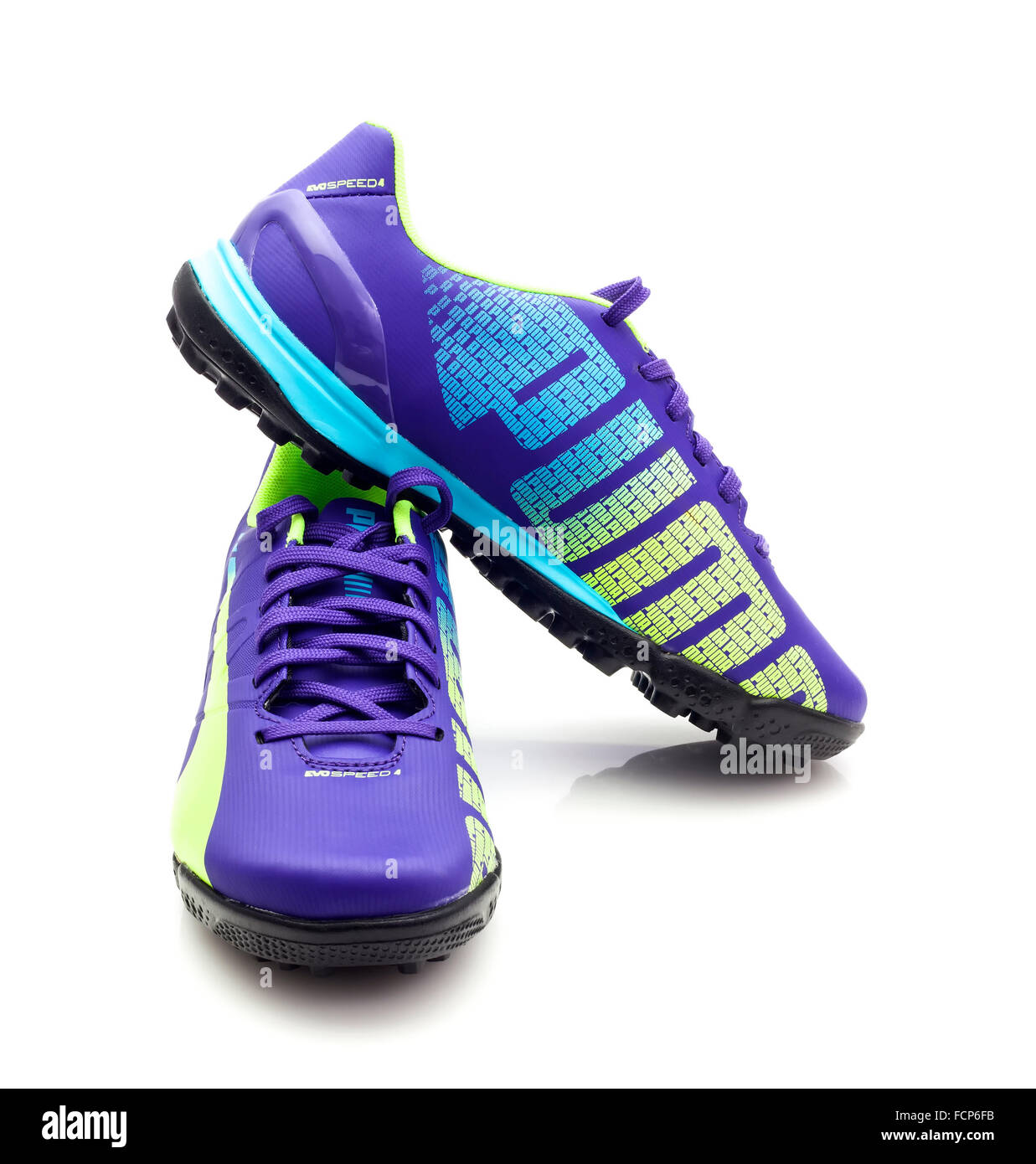 88f986162 White Football Boot Stock Photos & White Football Boot Stock Images ...