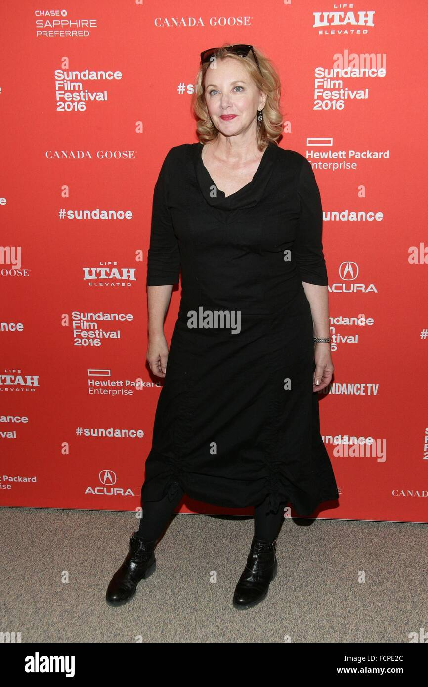 Park City, UT, USA. 23rd Jan, 2016. J. Smith-Cameron at arrivals for MANCHESTER BY THE SEA Premiere at Sundance - Stock Image