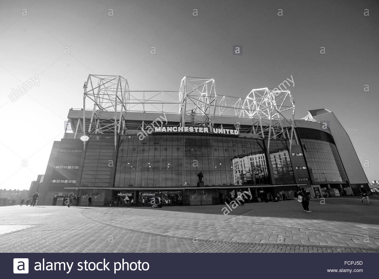 Old Trafford, Manchester United - Stock Image