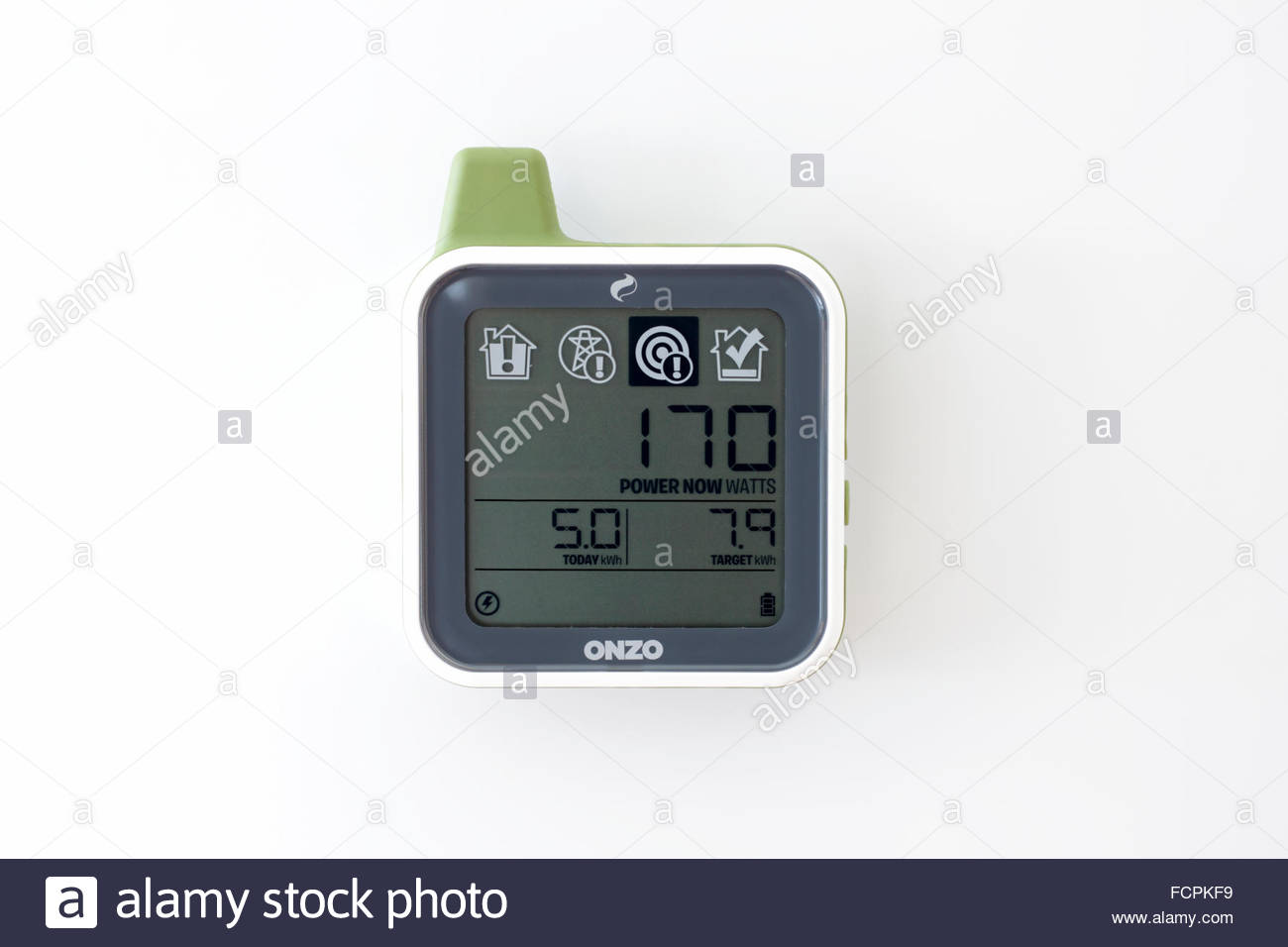 Electricity and Gas Home Smart Meter UK - Stock Image