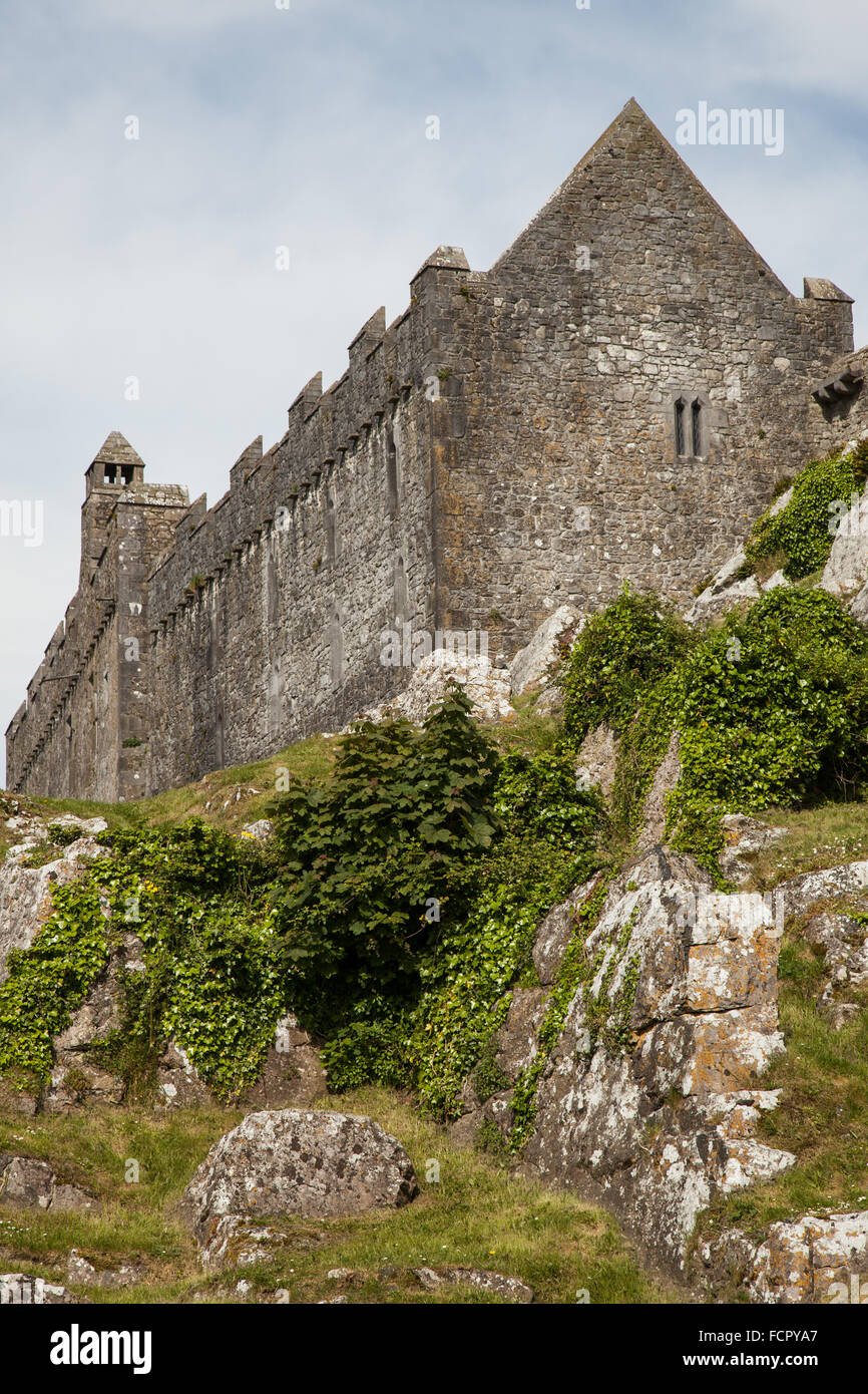 church at the Rock of Cashel, Ireland - Stock Image