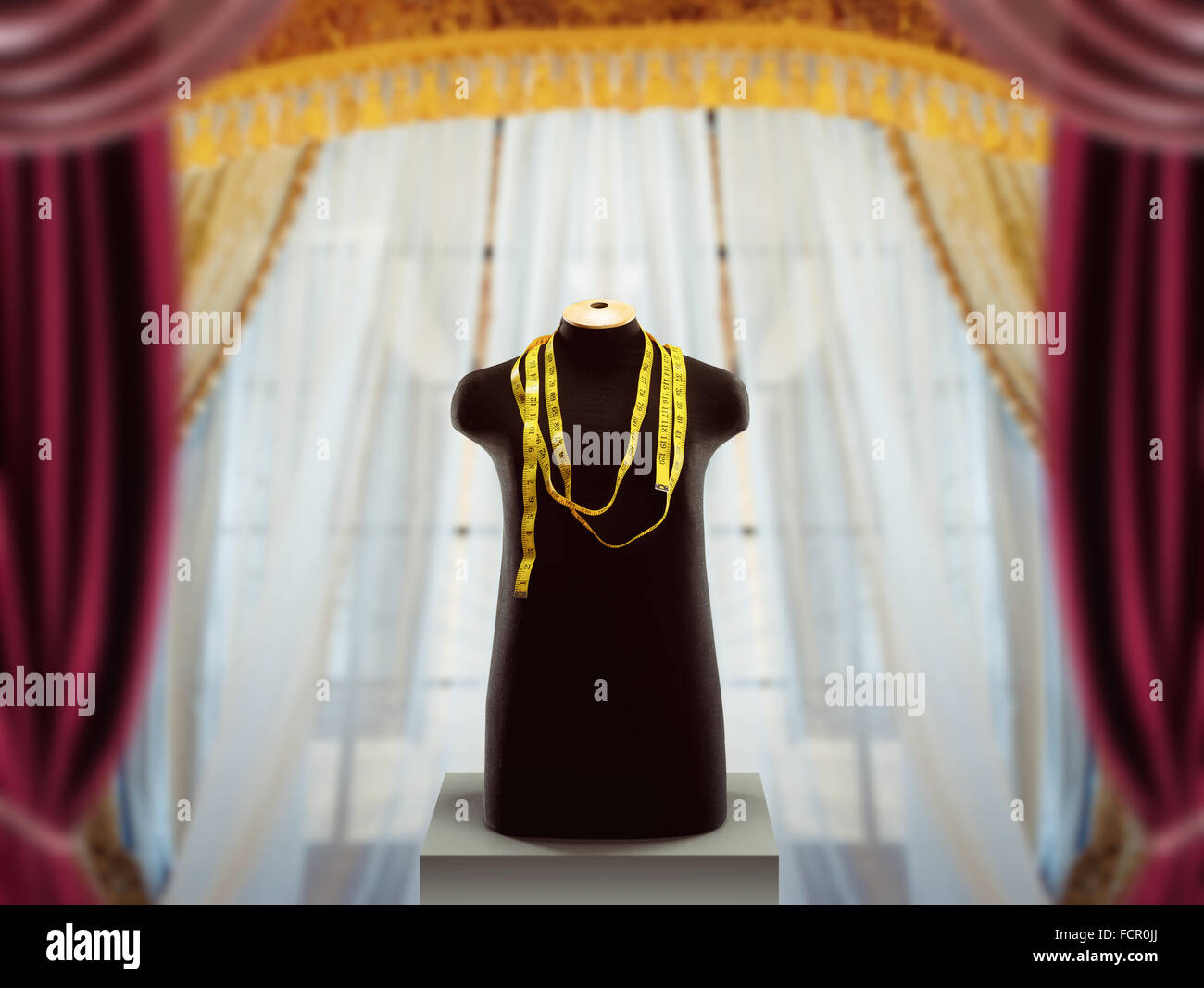 Clothing mannequin - Stock Image