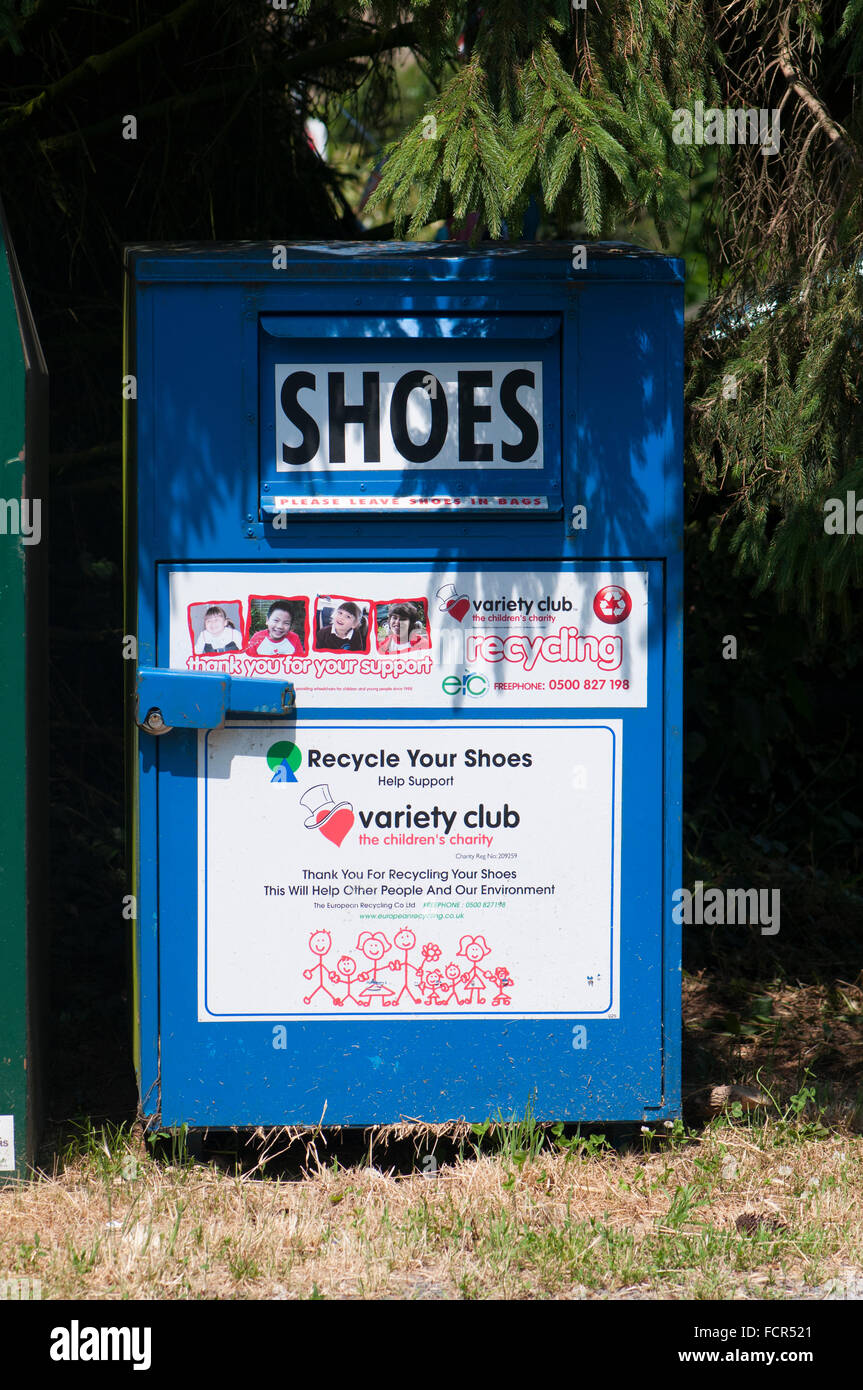 Recycling Old Shoes Uk