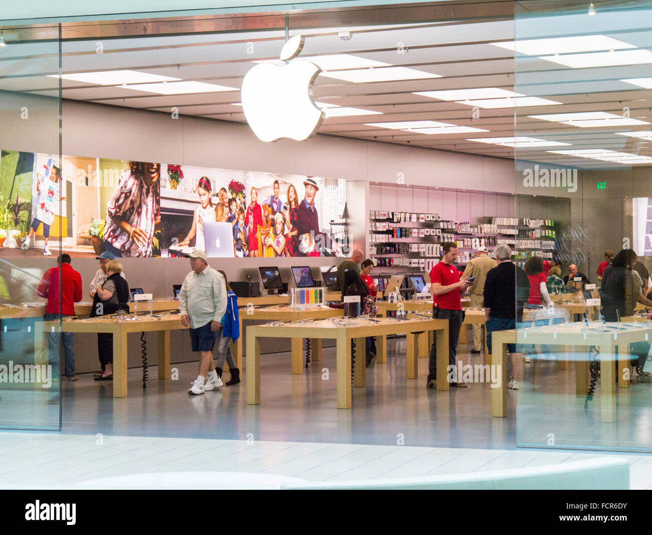 Apple Store Sarasota >> Apple Store In Nterior Of The Mall At University Town Center In