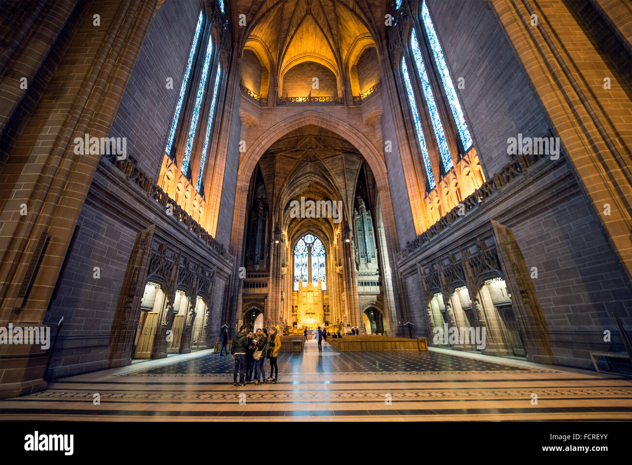 Liverpool Anglican Cathedral - Stock Image