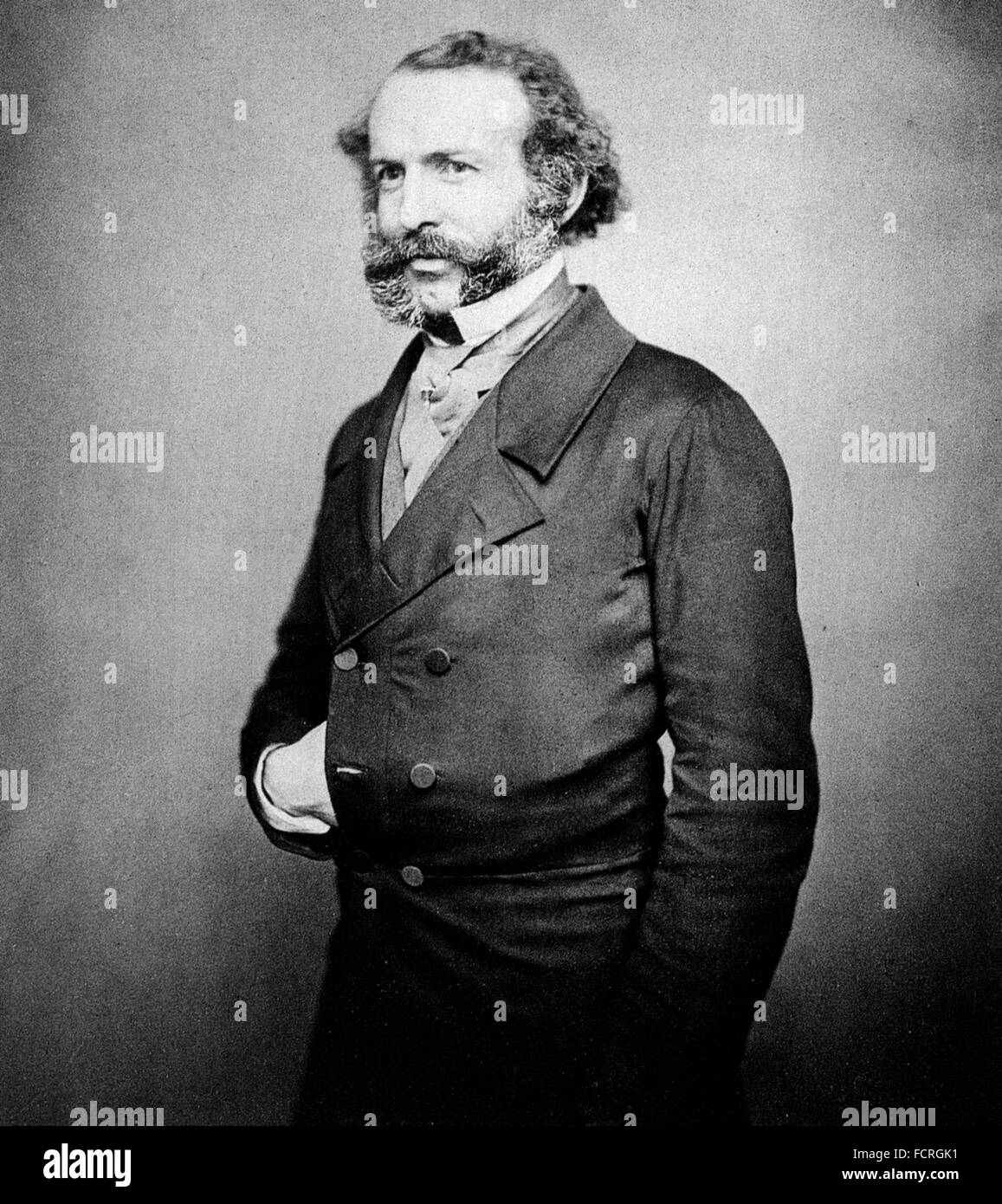 JOHN RAE (1813-1893) Scottish doctor and Arctic explorer about 1848 - Stock Image