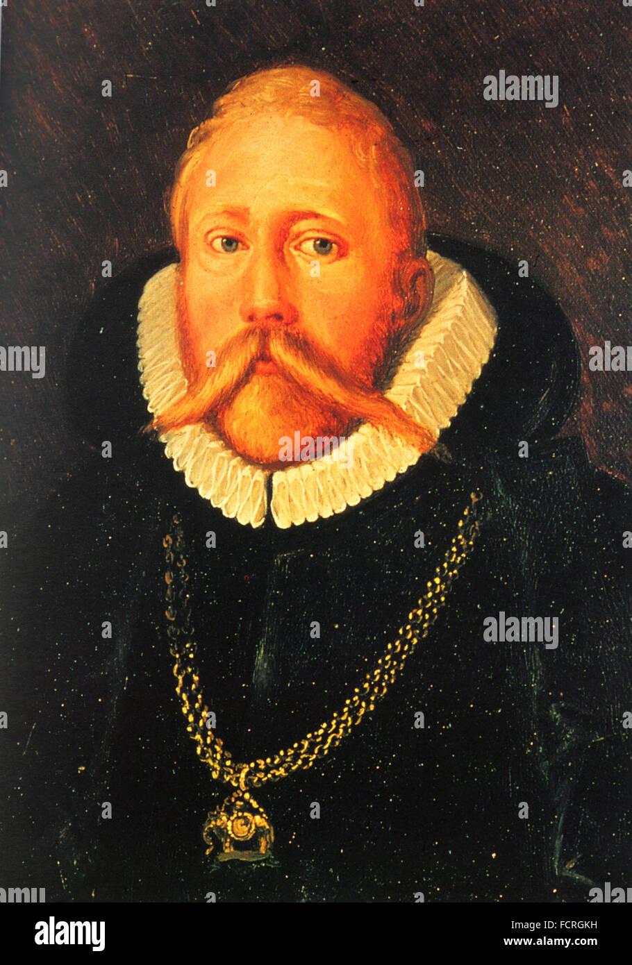 TYCHO BRAHE (1546-1601) Danish astronomer - Stock Image