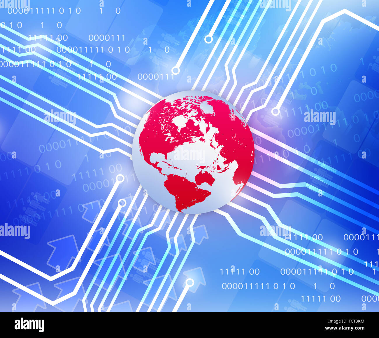Wiring Diagram Stock Photos Images Alamy Cf Diagrams Red Globe World Map And Departing In Sides Image