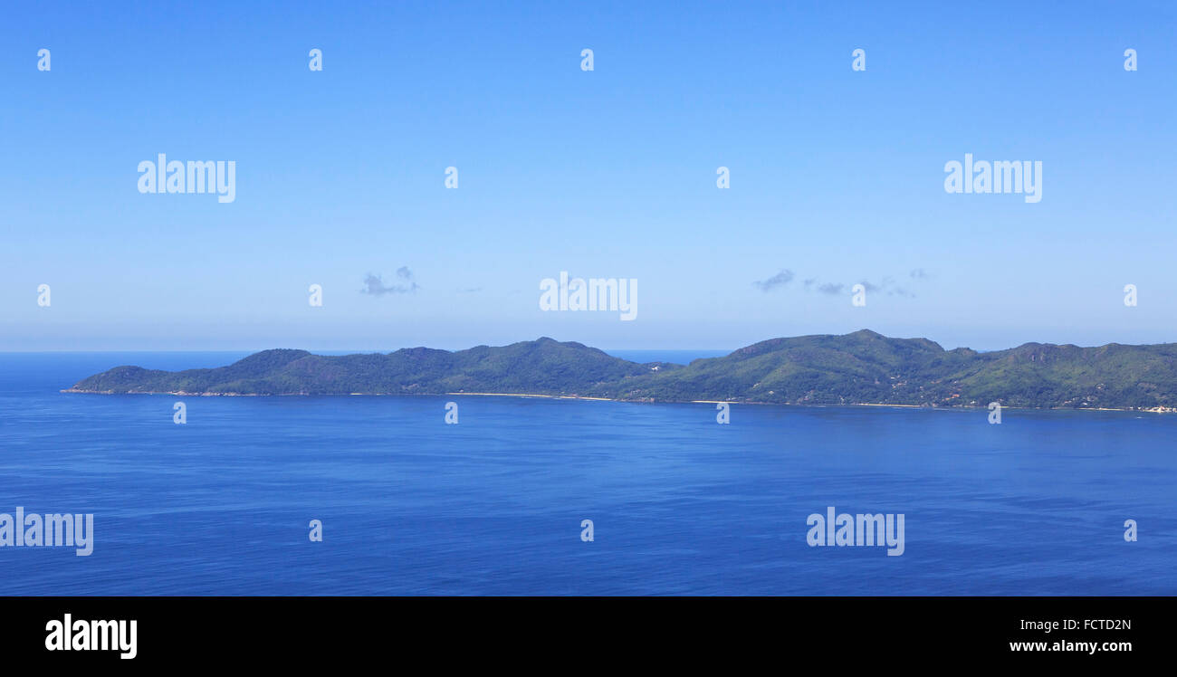 Beautiful Seychelles in the Indian Ocean. - Stock Image