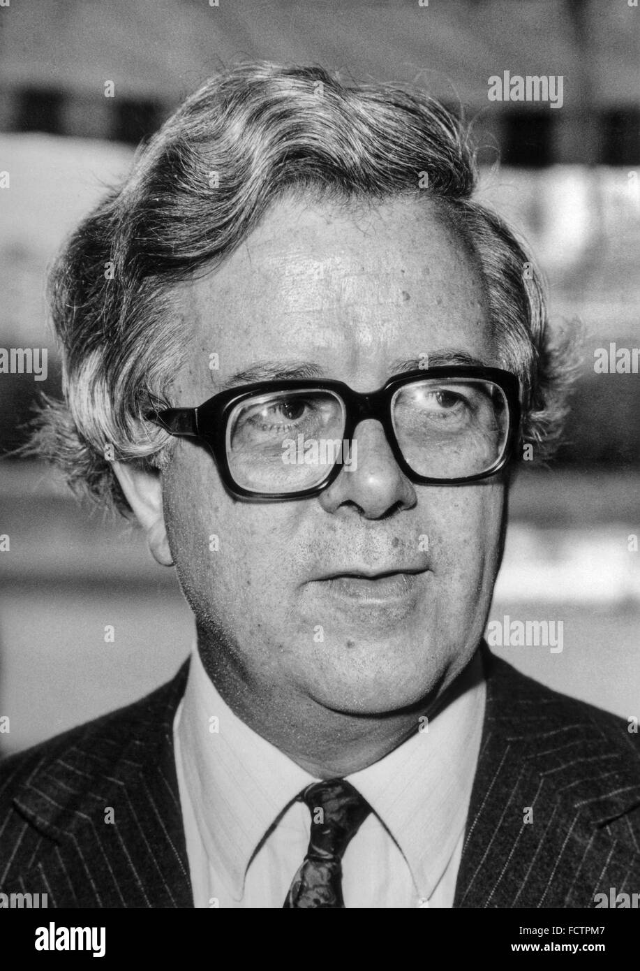 Richard Edward Geoffrey Howe, Baron Howe of Aberavon, CH, QC, PC, known from 1970 to 1992 as Sir Geoffrey Howe - Stock Image