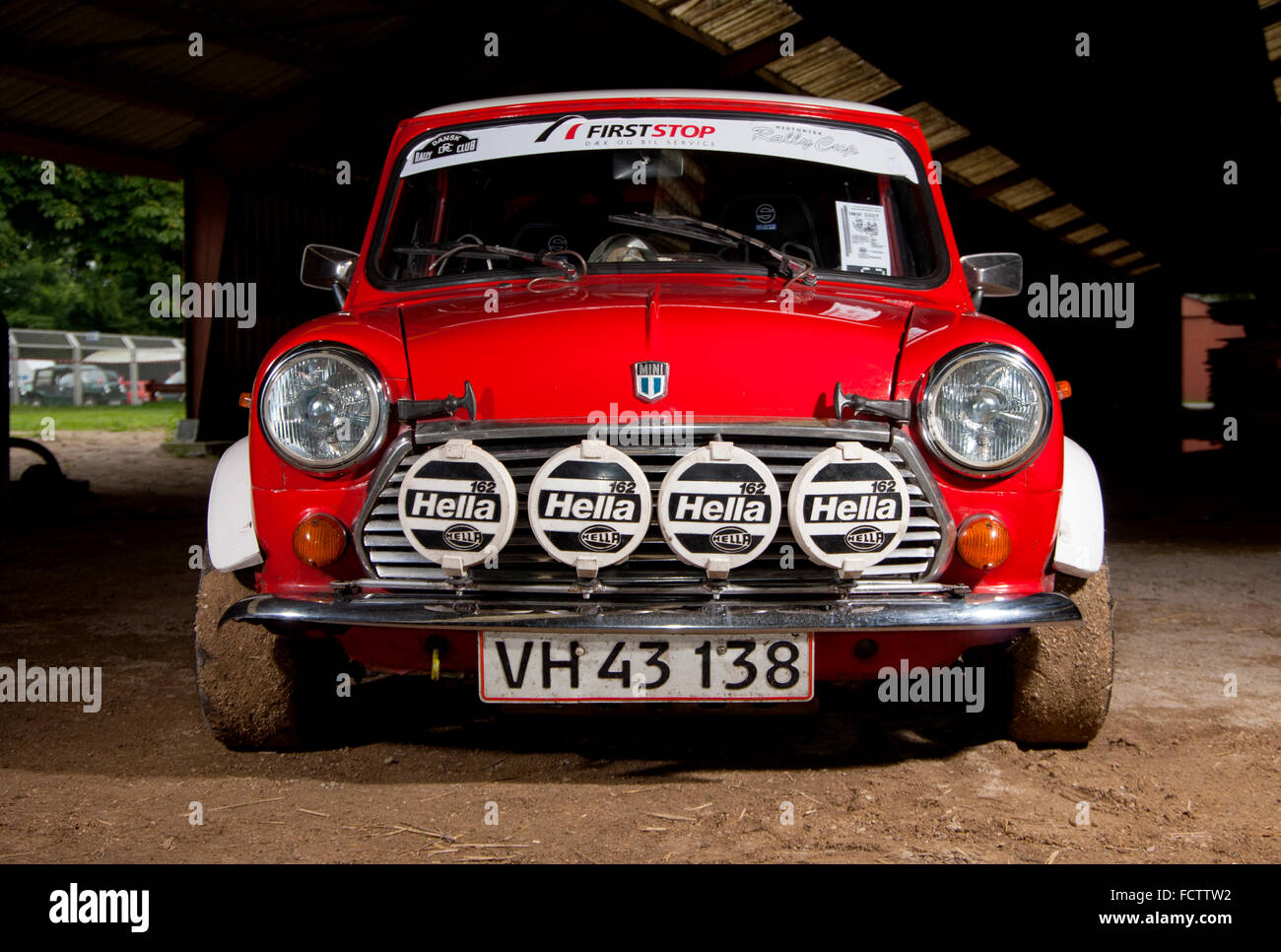 Classic Mini rally car Stock Photo: 93974078 - Alamy