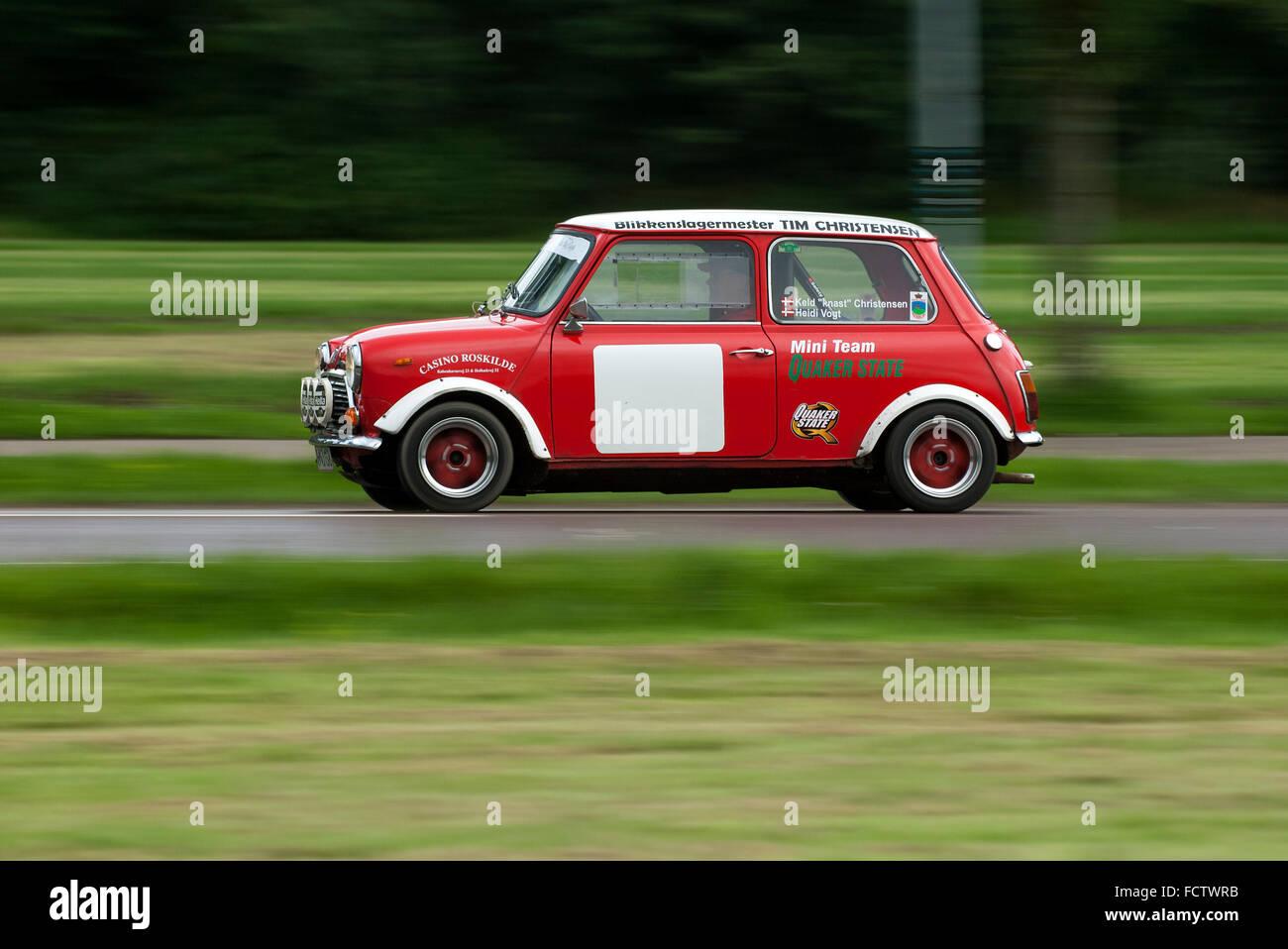 Classic Mini rally car Stock Photo: 93974815 - Alamy