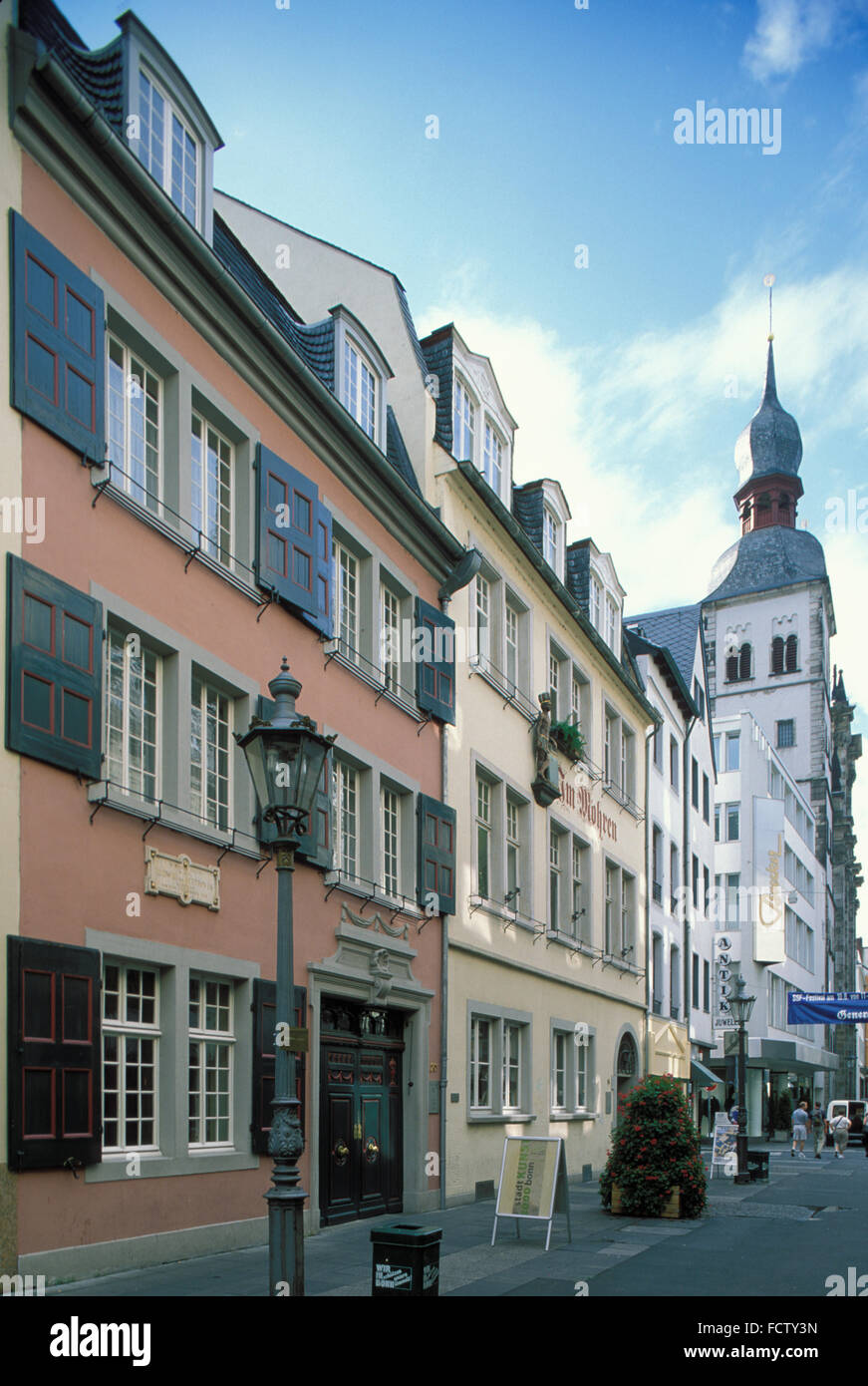 His Birthplace In Bonn Stock Photos & His Birthplace In Bonn