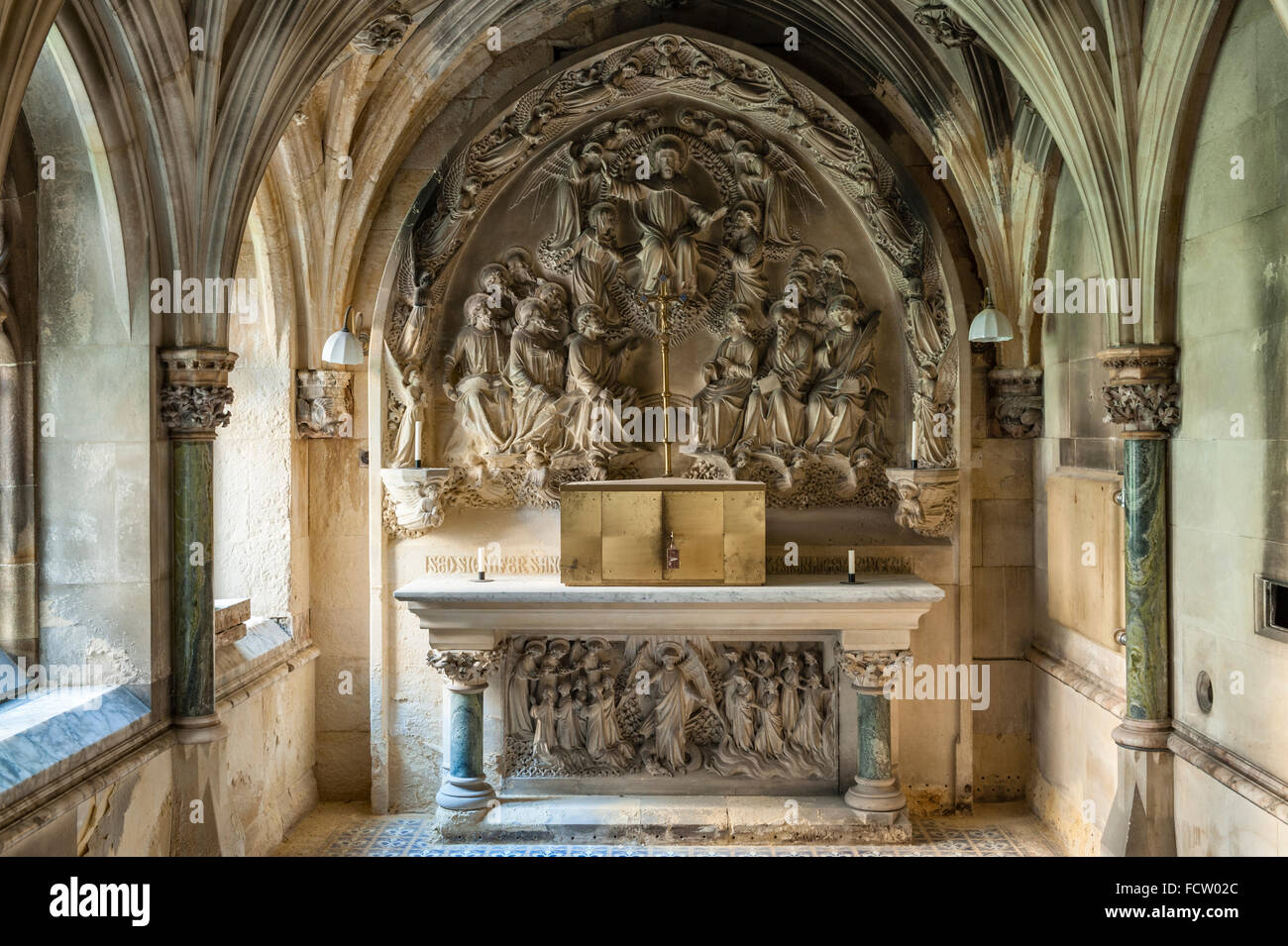 a now redundant Catholic seminary. The Mortuary Chapel - Stock Image