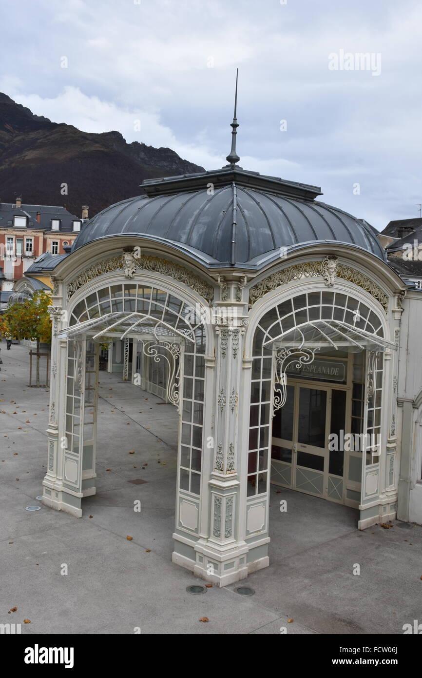 Pavilion Cauterets Hautes-Pyrénées (65) France - Stock Image