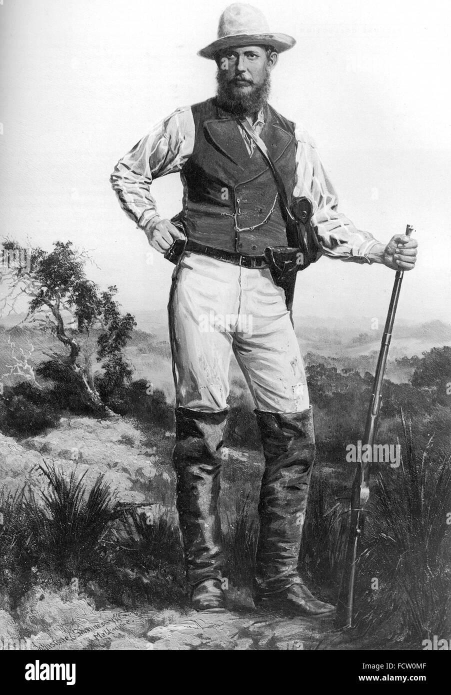 JOHN FORREST (1847-1918) Australian explorer and politician - Stock Image