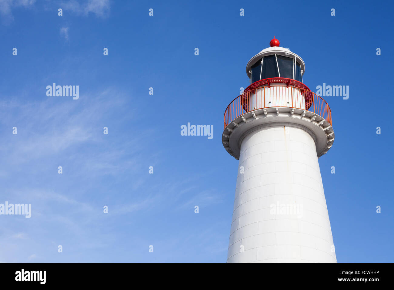 Cape Bowling Green Lighthouse, Darling Harbour, Sydney - Stock Image