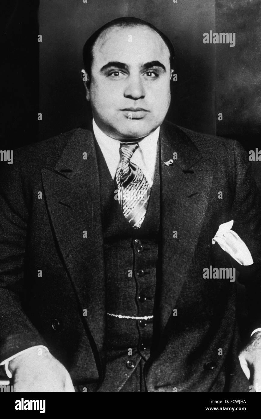 Al Capone, c.1930 - Stock Image