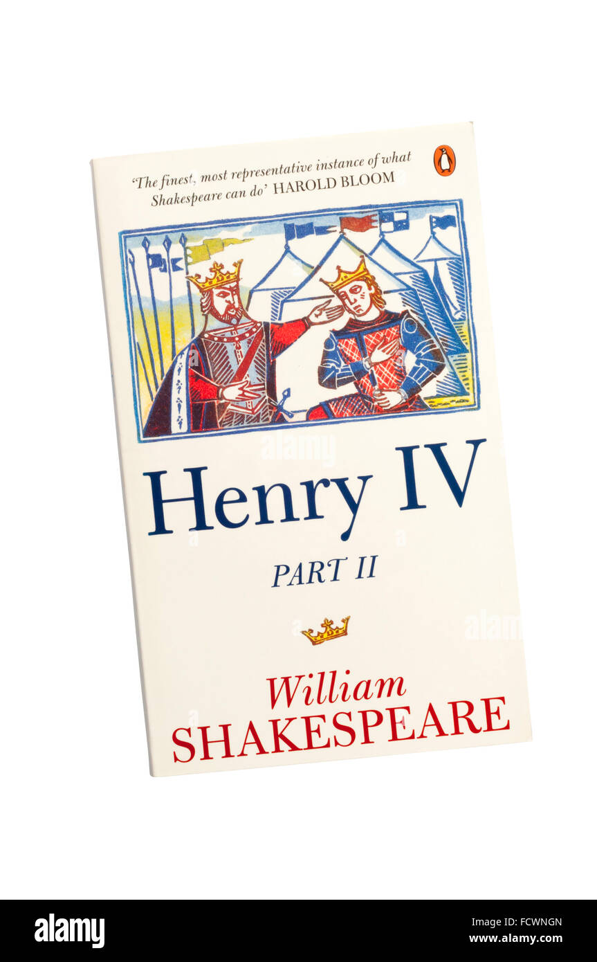 The Penguin edition of Henry IV Part II by William Shakespeare. - Stock Image