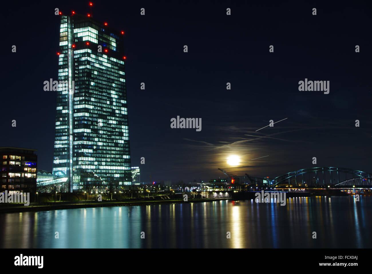 European Central Bank, - Stock Image