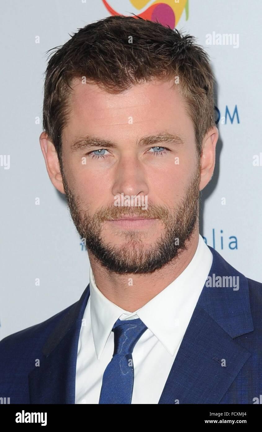 New York, NY, USA. 25th Jan, 2016. Chris Hemsworth in attendance for Chris Hemsworth Announced As Tourism Australia's - Stock Image
