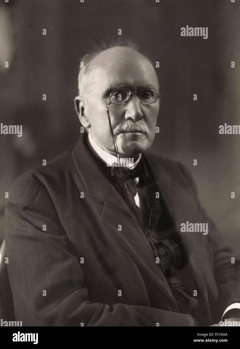 portrait of edouard branly 1844 1940 physicist Stock Photo