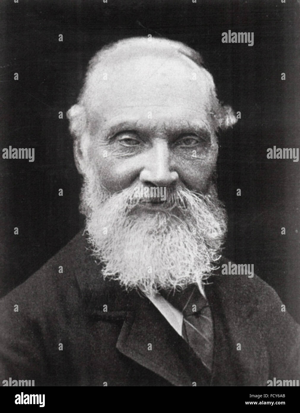 portrait of william thomson baron kelvin 1824 1907 physicist - Stock Image