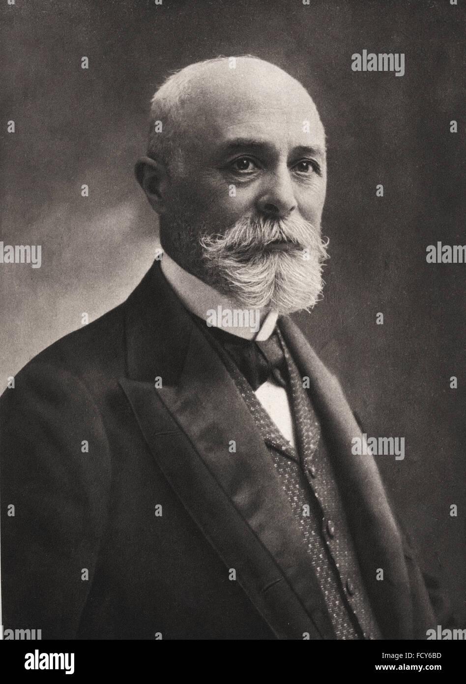 portrait of antoine henri becquerel 1852 1908 physicist Stock Photo