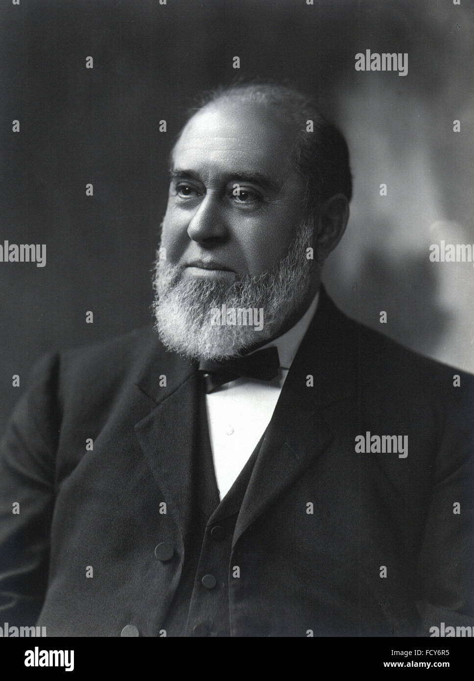 portrait of henry chamberlaine russell 1836 1907 astronomer and meteorologist - Stock Image
