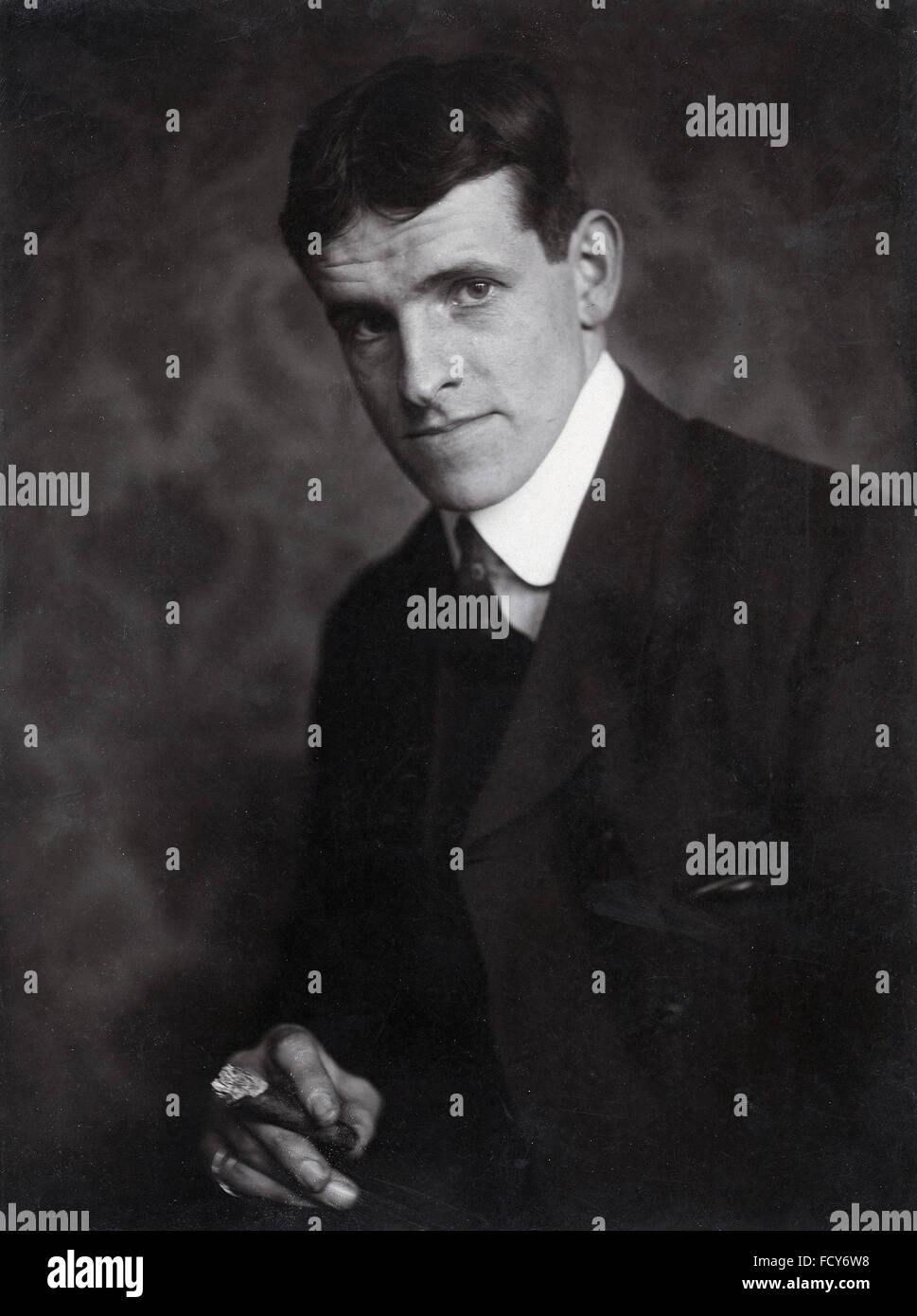 Portrait of Jack Butler Yeats - Stock Image