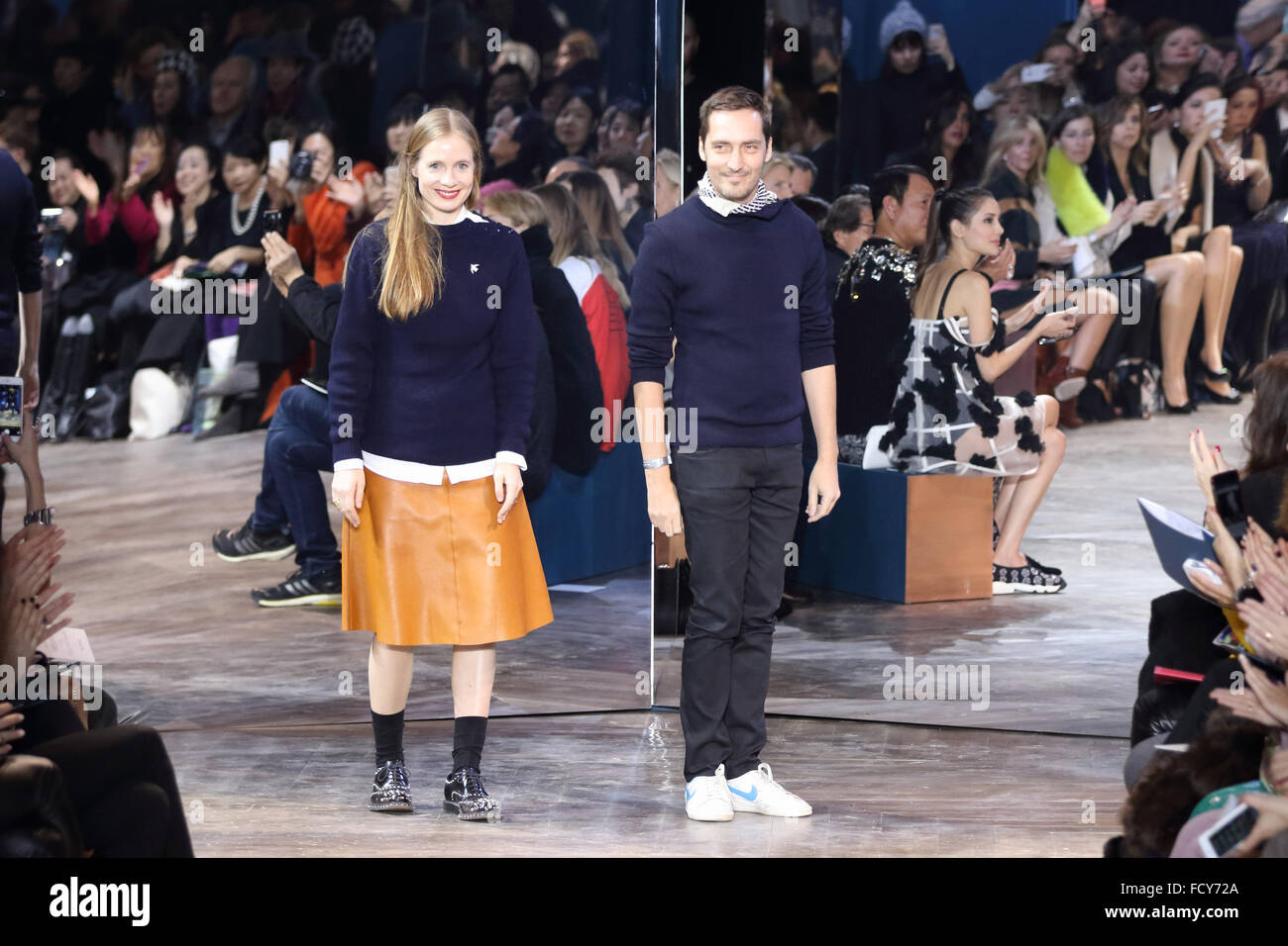 Paris France 25th Jan 2016 Swiss Designers Serge Ruffieux And Stock Photo Alamy