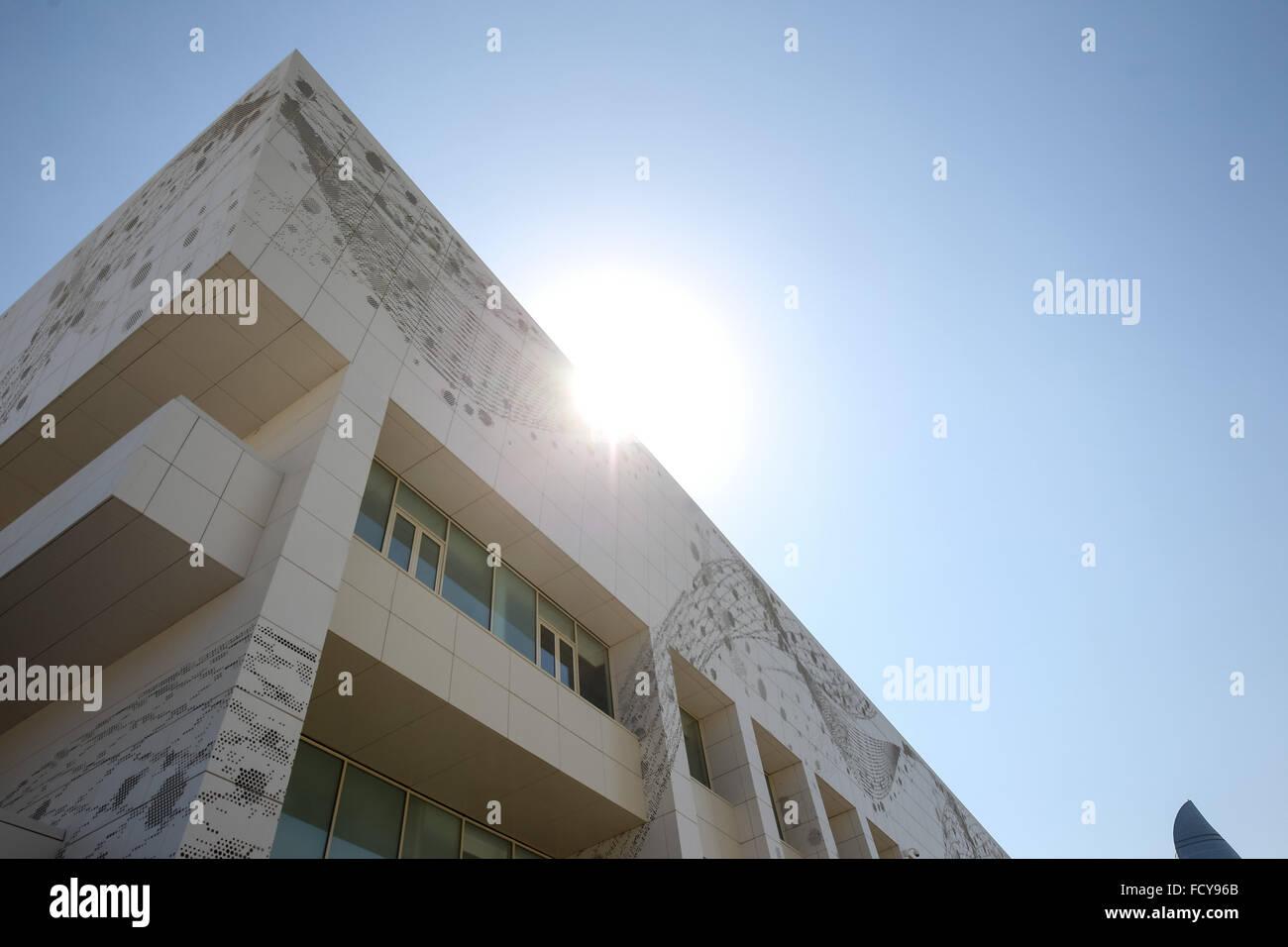 General views of Baku Sports Hall. Baku2015. 1st European Games. Baku. Azerbaijan. 24/06/2015 - Stock Image