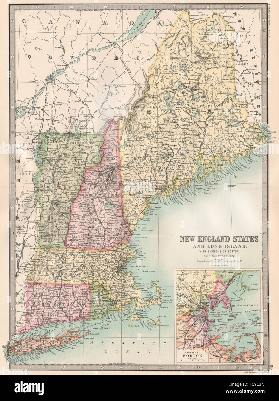 Map Of New York Harbour.New York Harbour Map Stock Photos New York Harbour Map Stock