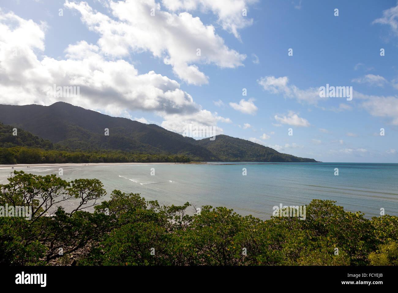 Kulki lookout in Cape Tribulation, Queensland,Australia - Stock Image