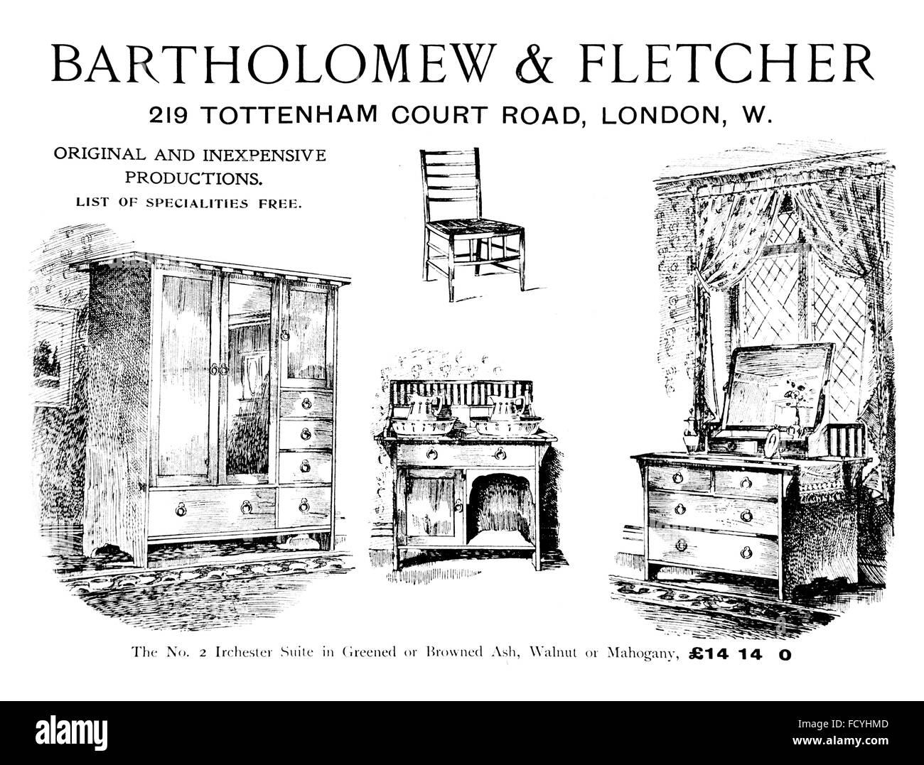 Bartholomew & Fletcher, London, Bedroom Suite furniture ...
