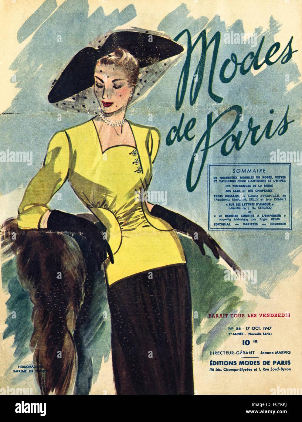 French Fashion Magazines S