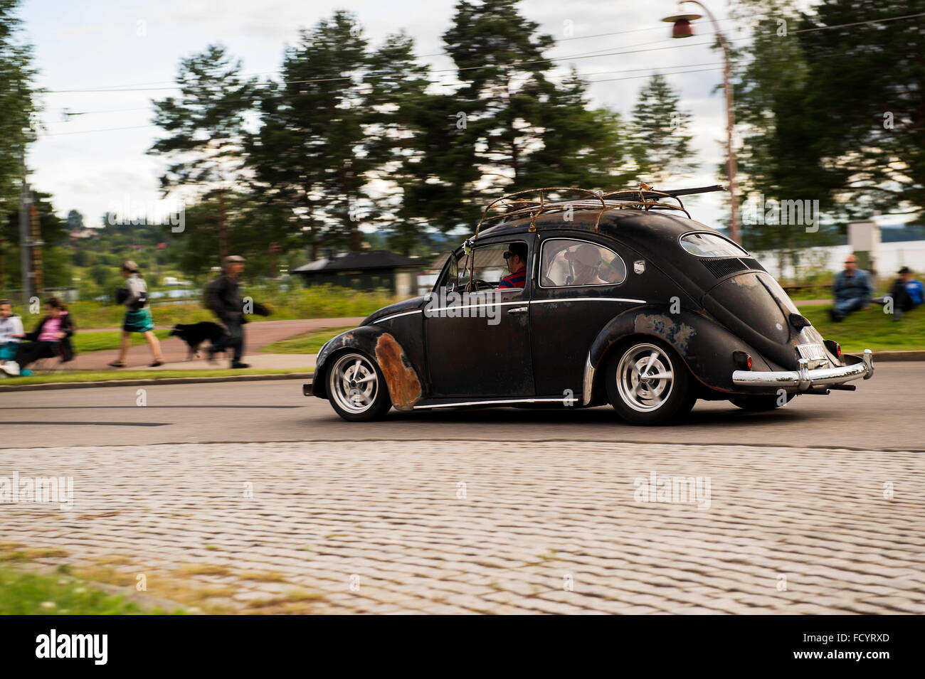 Classic VW - Stock Image