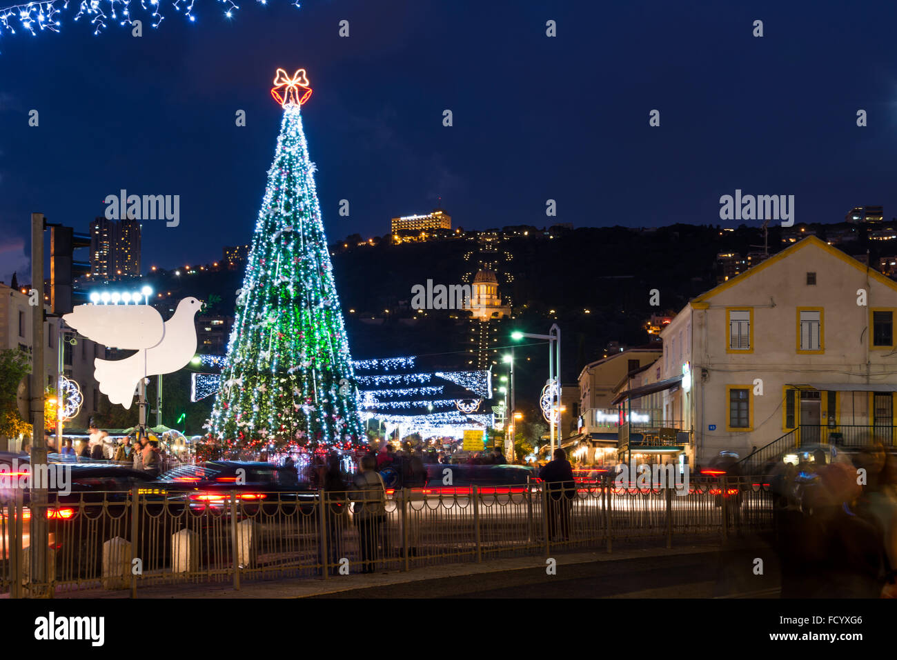 The Holiday of Holidays celebrations in Haifa, 2015 - Stock Image
