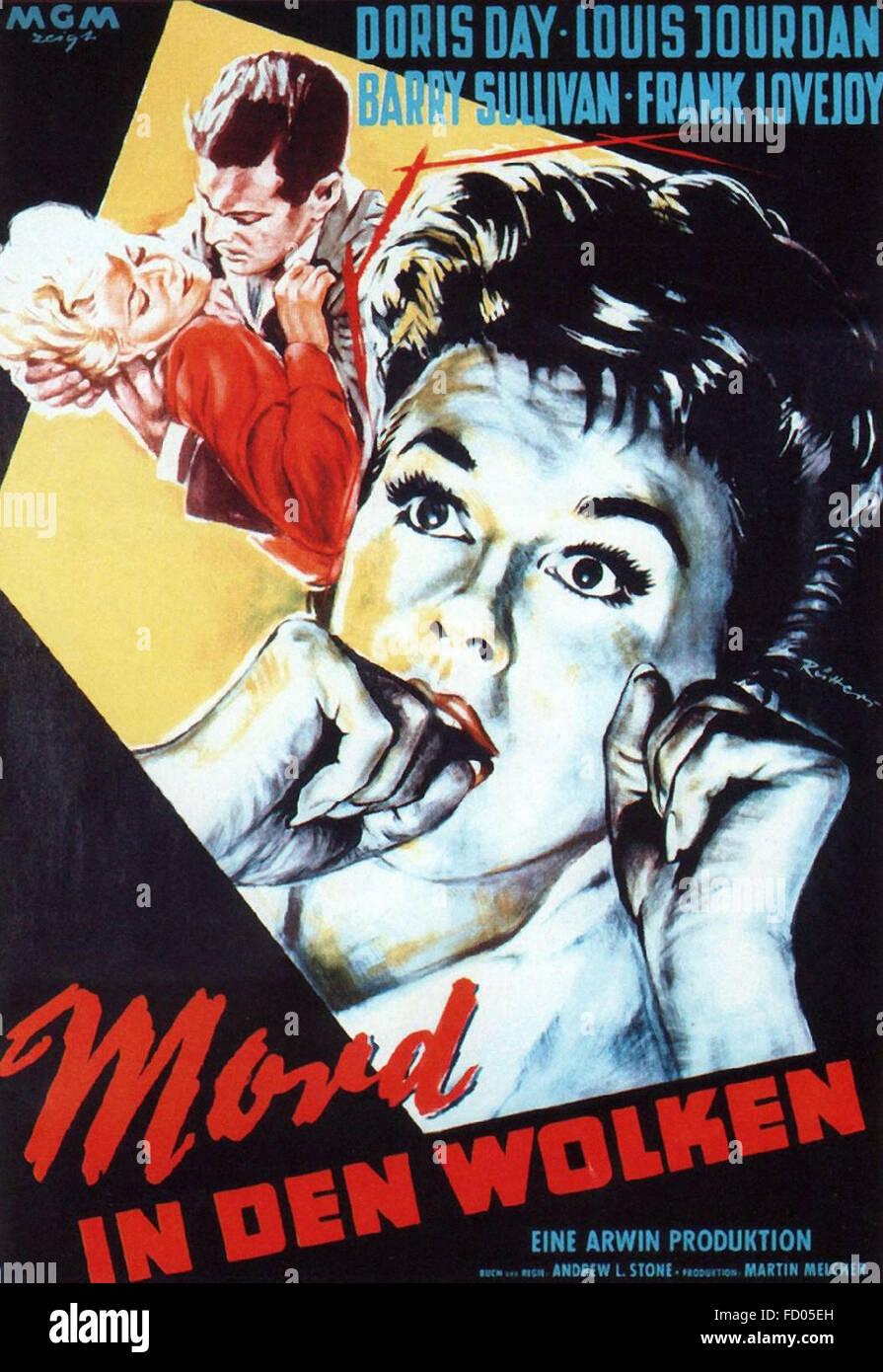 Julie - German Movie Poster - Stock Image