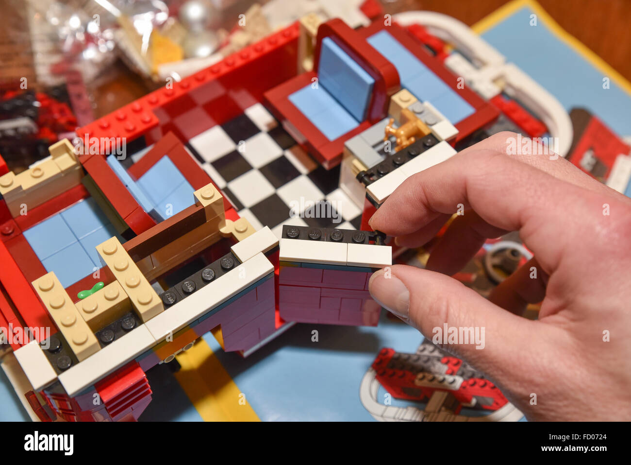 camper lego ac lightailing creator model dp com amazon building van blocks volkswagen series light set for