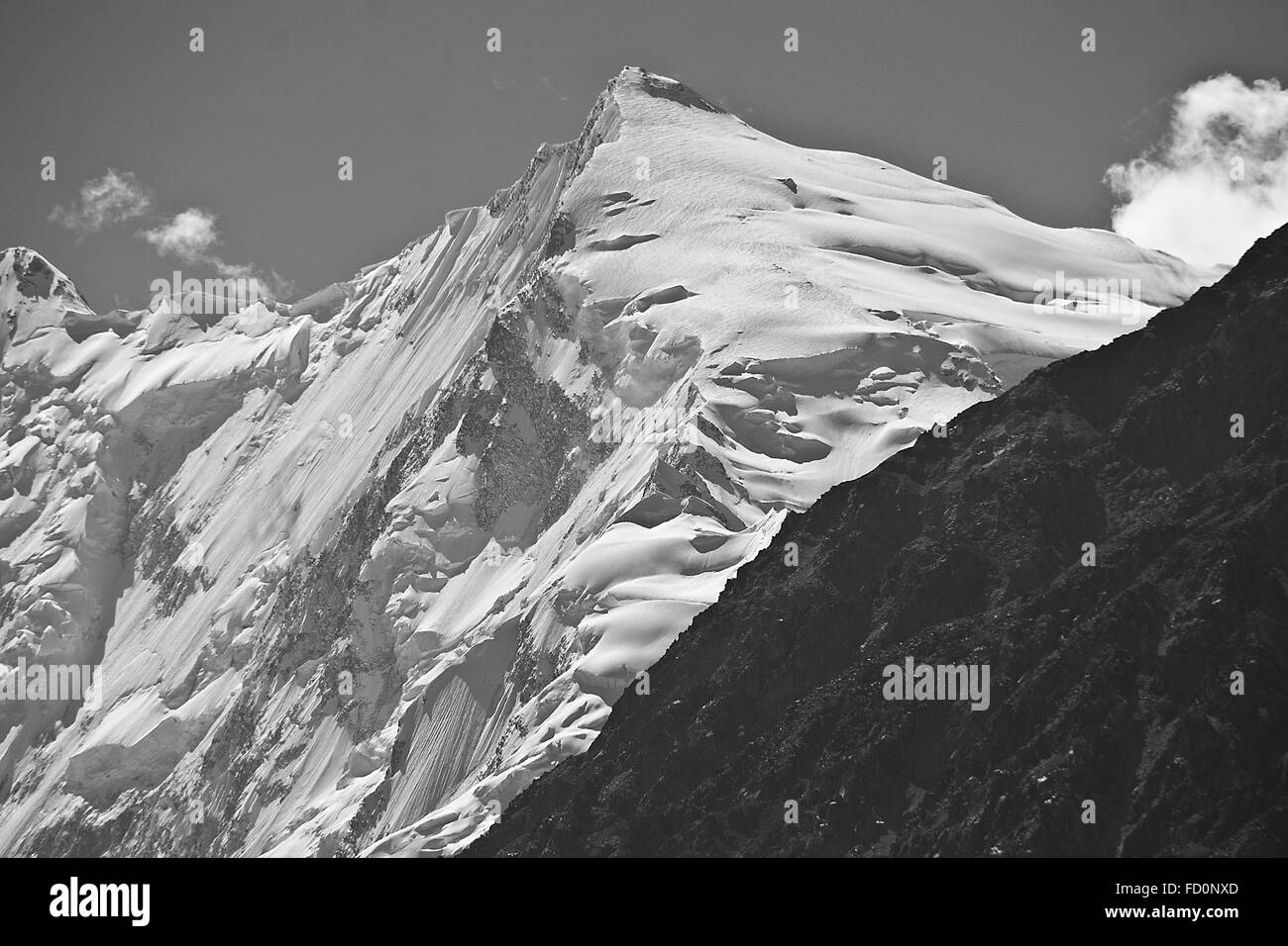 Wakhan, Tajikistan, Afghanistan, Hindu Kush, Mountains, Panj, River, Pamir, Valley. - Stock Image