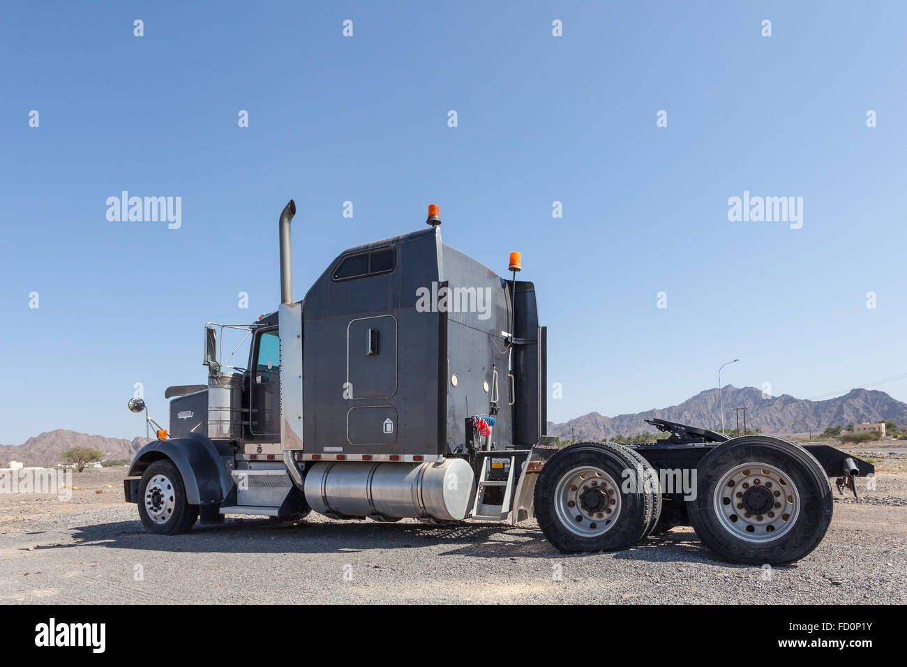 Kenworth semitrailer truck - Stock Image