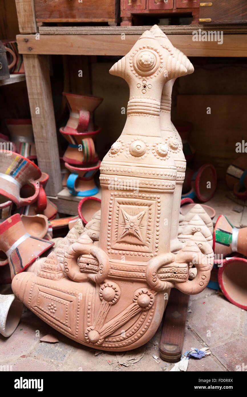 Omani khanjar dagger Stock Photo