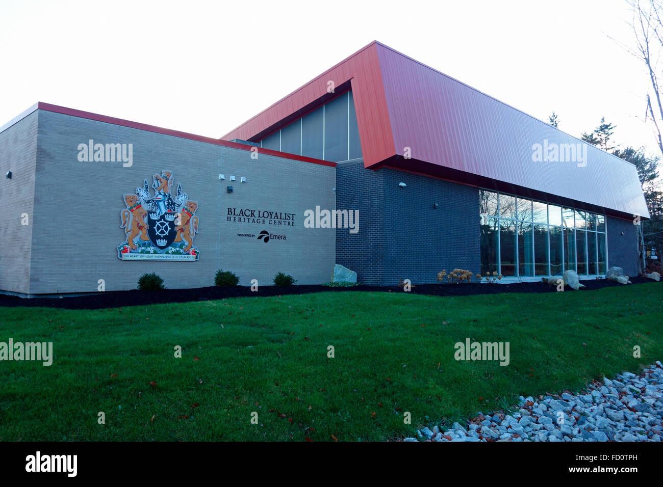The Black Loyalist Museum in Shelburne, Nova Scotia - Stock Image