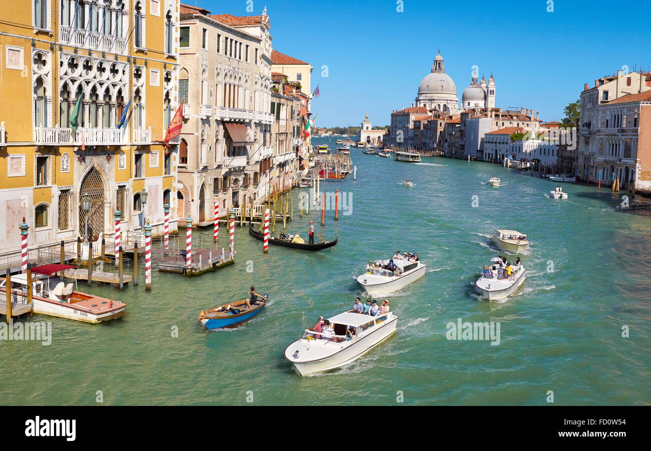 Venice cityscape, Grand Canal, Italy - Stock Image