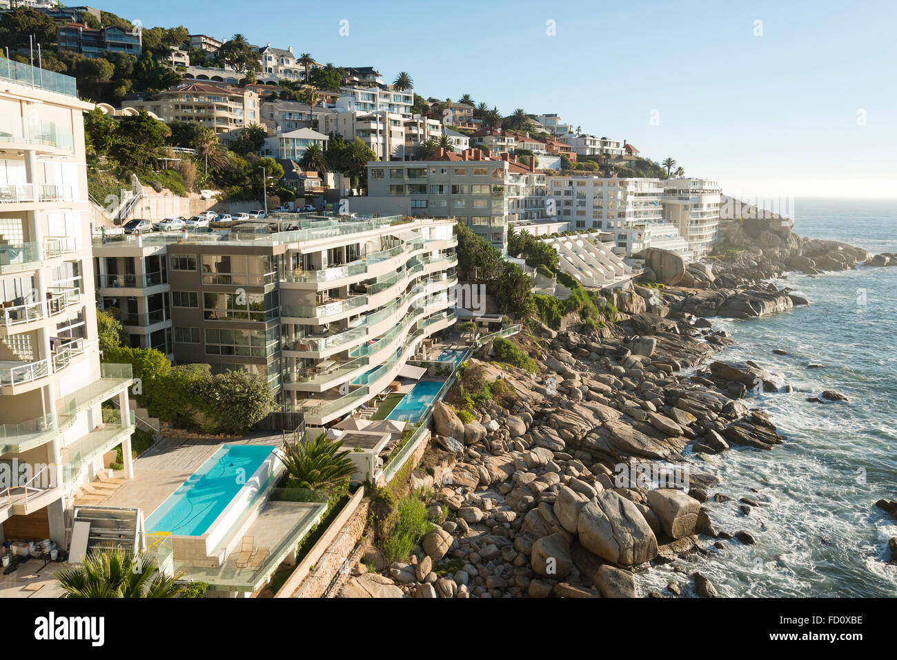 City Of Cape Town: Apartment Buildings, Bantry Bay, Cape Town, City Of Cape