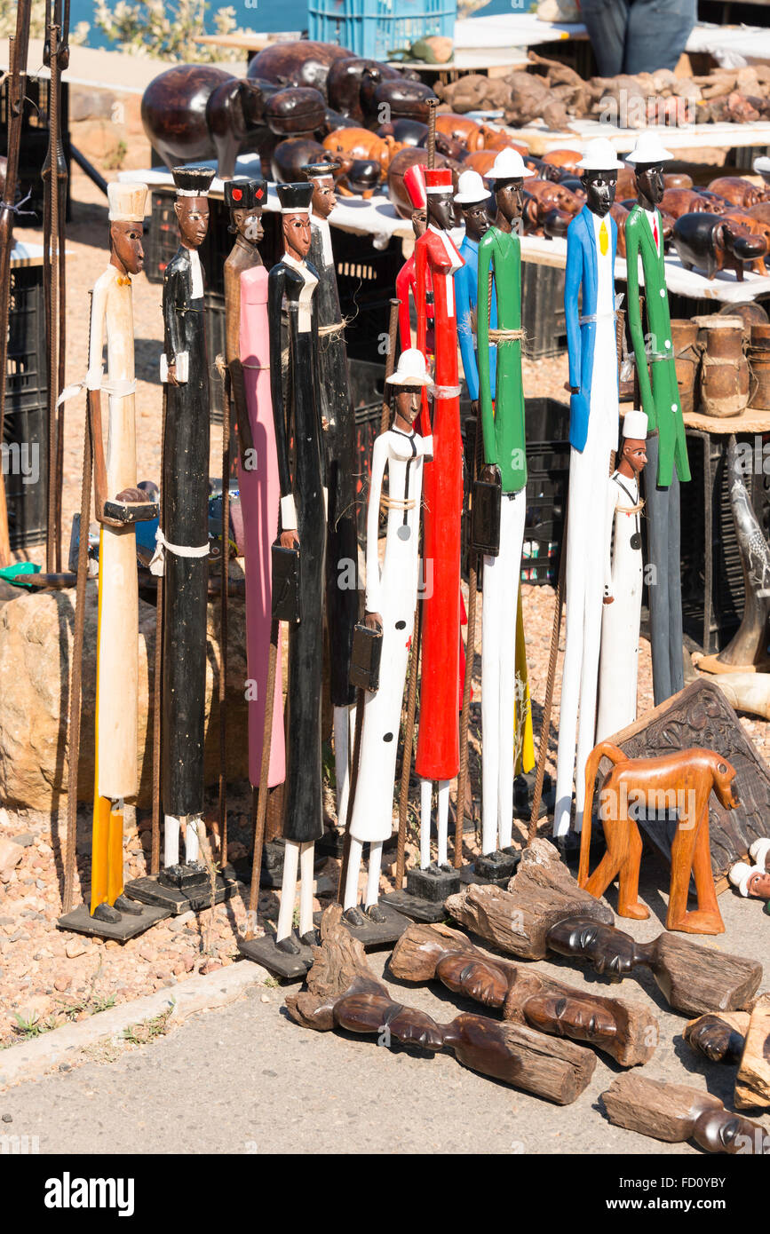 African Souvenirs On Sale Cape Stock Photos & African ...