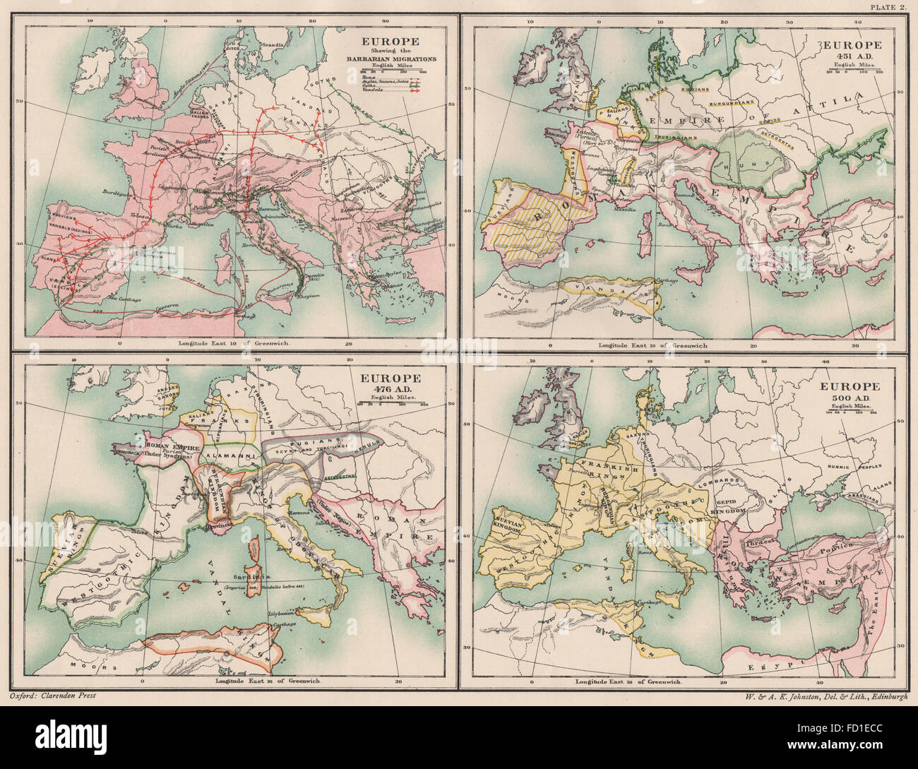 Map Of Uk 500 Ad.476 Stock Photos 476 Stock Images Alamy